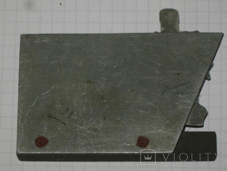 Брестская Крепость - герой сувенир настольный металл, фото №6