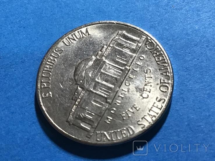 5 центов сша 2002 D, фото №3