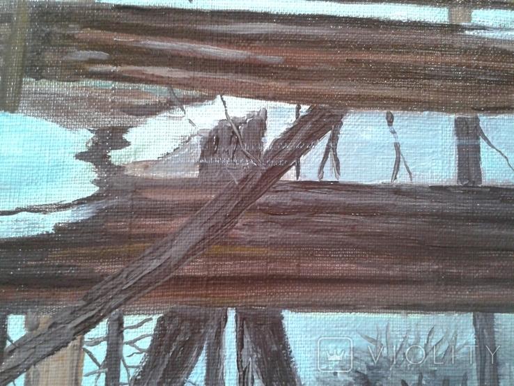 В весеннем лесу, х., м., 50х70 см. Алек Гросс, фото №12