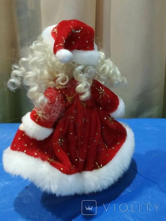 Кукла-Снегурочка фарфоровая, фото №3