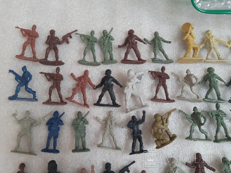 Солдатики 100 шт, фото №3