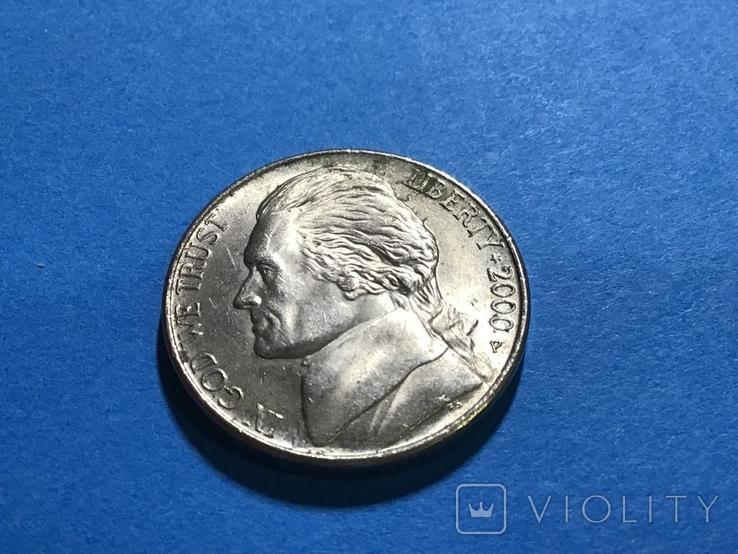 5 центов сша 2000 Р, фото №2