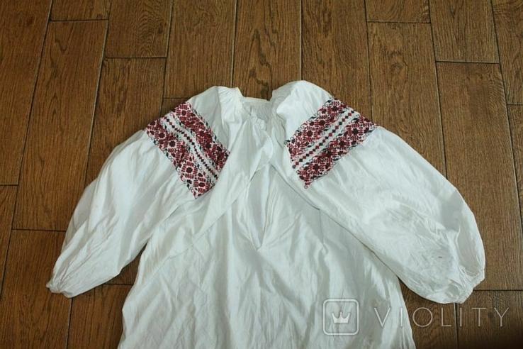 Сорочка вышиванка старинная №48, фото №2