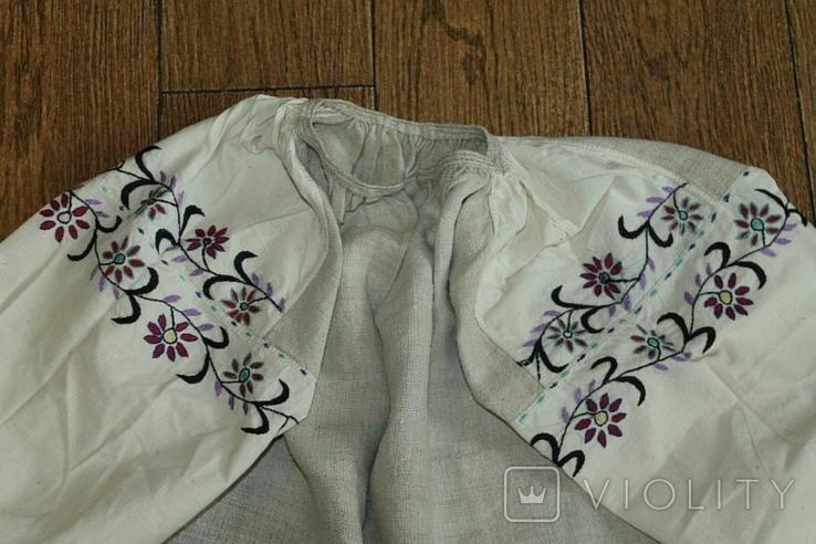 Сорочка вышиванка старинная №50, фото №2
