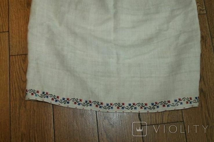 Сорочка вышиванка старинная №50, фото №7