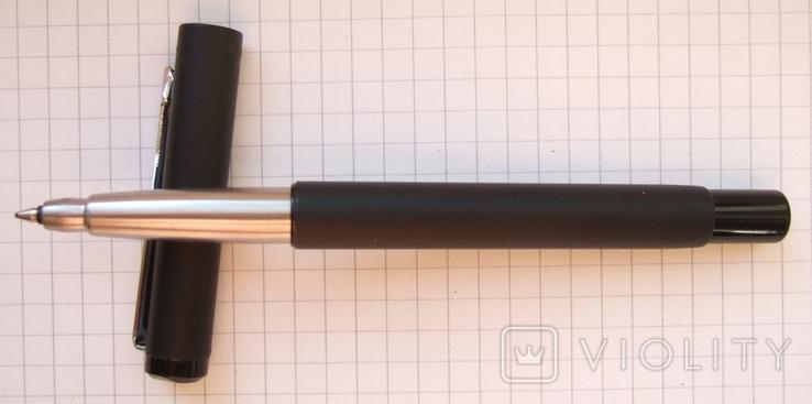 Паркер Вектор чёрный матовый. Оригинал. Сделан в Англии в 2006 году., фото №2