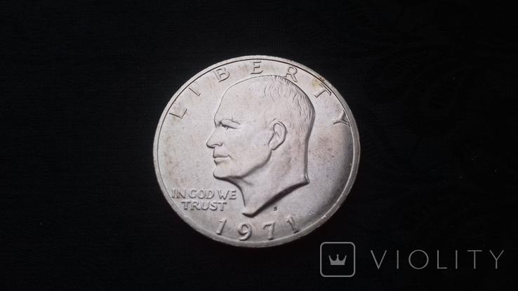 1 доллар 1971, фото №2
