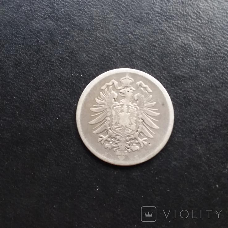 1 марка 1875 рік Е, фото №5