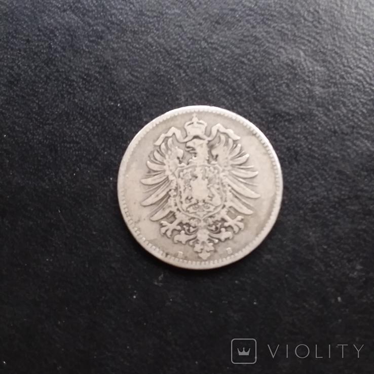 1 марка 1875 рік В, фото №5