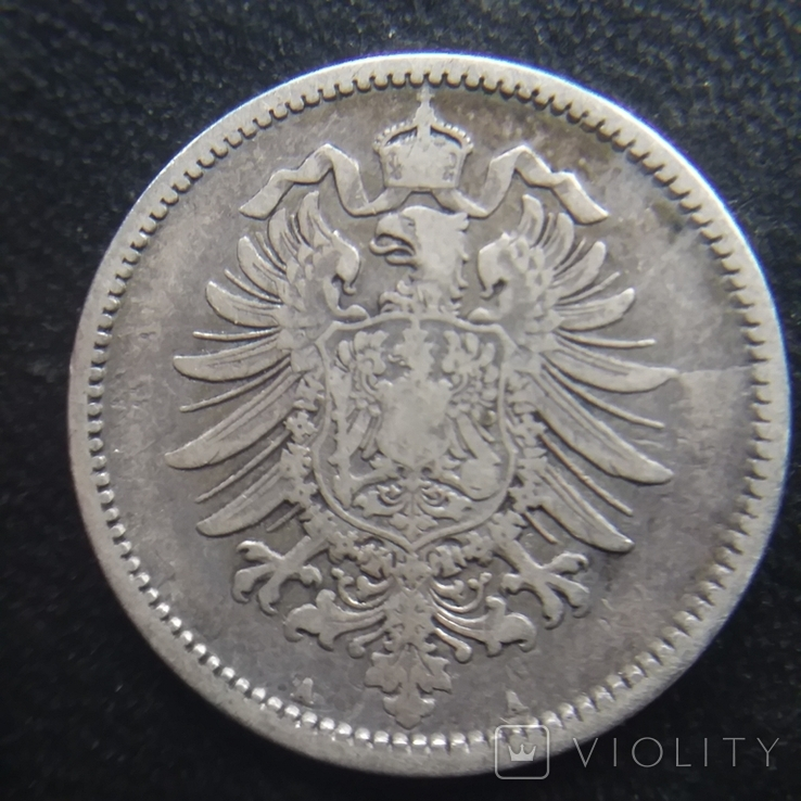 1 марка 1875 рік А, фото №3