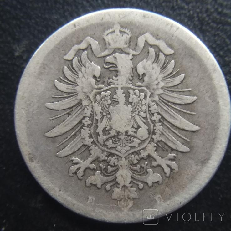 1 марка 1875 рік Е, фото №3