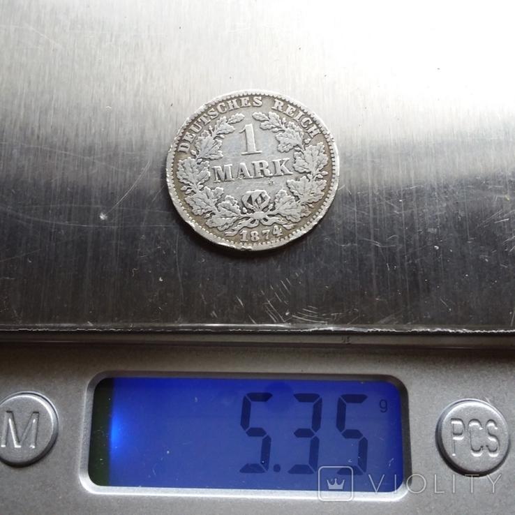 1 марка 1874 рік, фото №7