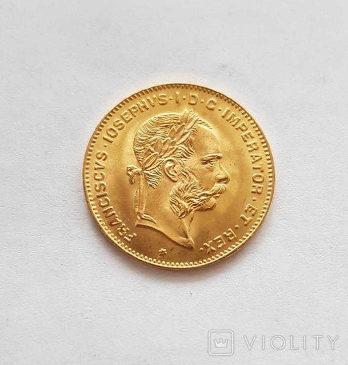 4 флорина/ 10 франков 1892 года, Австро-Венгрия, фото №7
