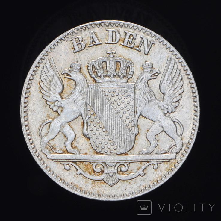 6 Крейцеров 1848, Баден, фото №2