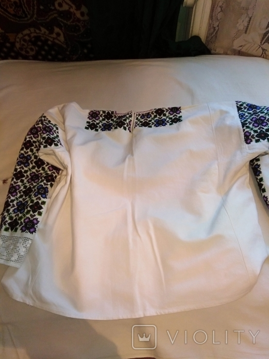 Сорочка вишита давня рукавка, фото №2