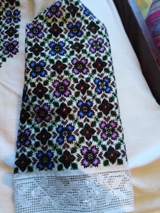 Сорочка вишита давня рукавка, фото №5