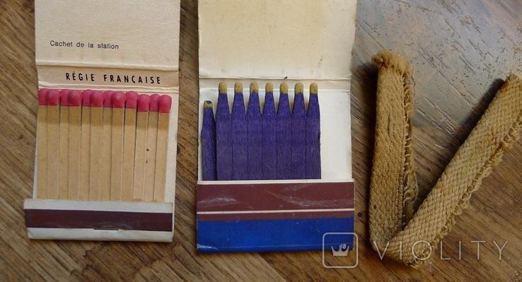 Фитиль в рулоне для керосиновых ламп и винтажные спички., фото №5