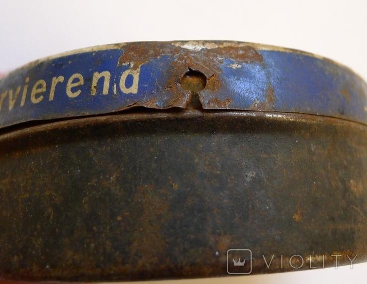 Старая жестяная немецкая коробка., фото №7