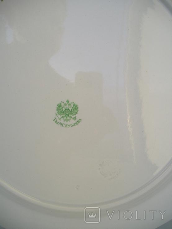 Блюдо Кузнецов 38 см., фото №4