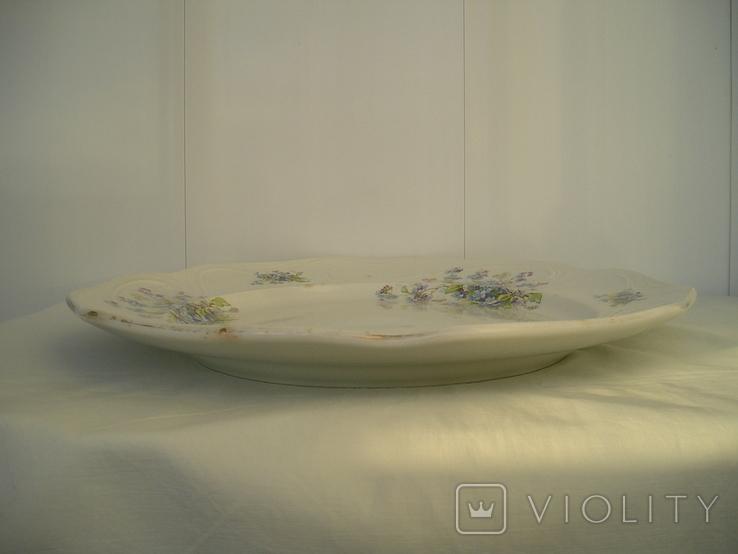Блюдо Кузнецов 38 см., фото №10