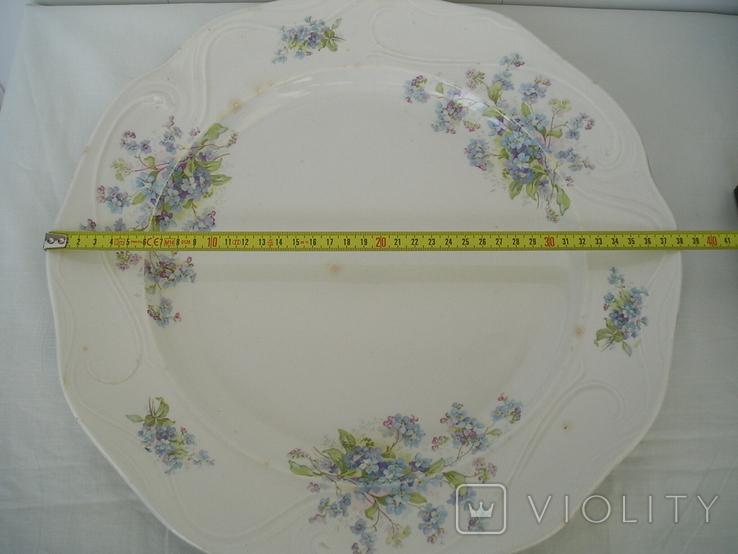 Блюдо Кузнецов 38 см., фото №13