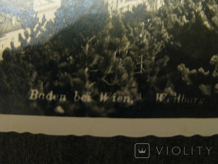 Открытка - курорт Baden dei  Wien -  № 2., фото №3