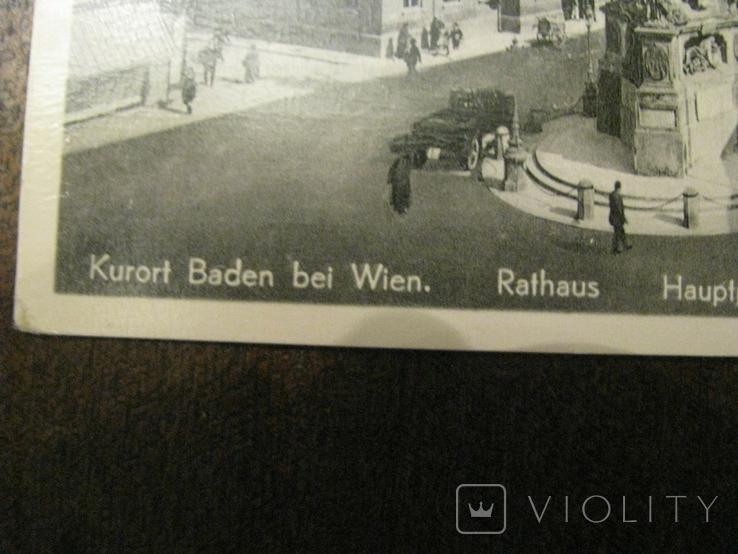 Открытка - курорт Baden dei  Wien -  № 4., фото №4
