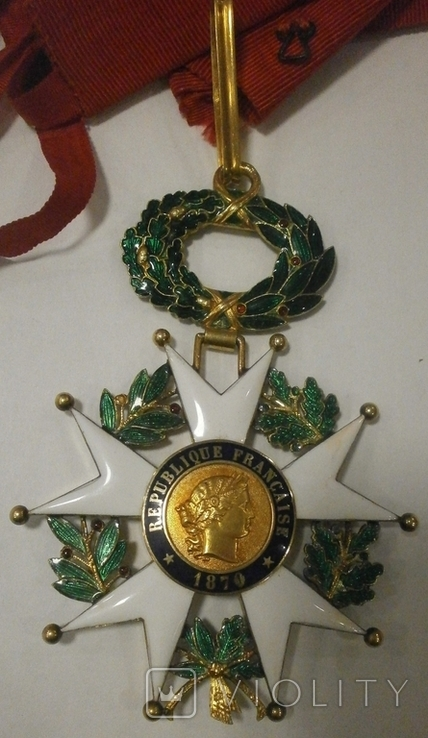 Знак Командора Ордена Почетного Легиона