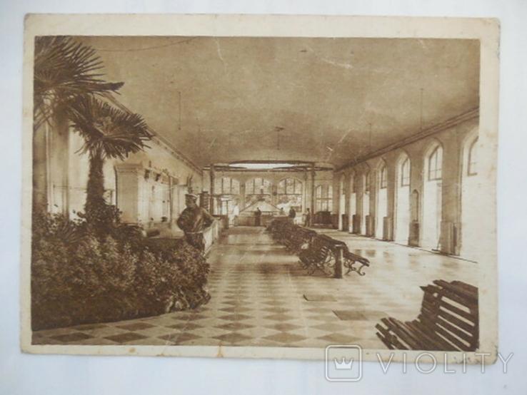 Почтовая карточка Кисловодск Внутренний вид галлереи Нарзана тир. 13000, фото №2