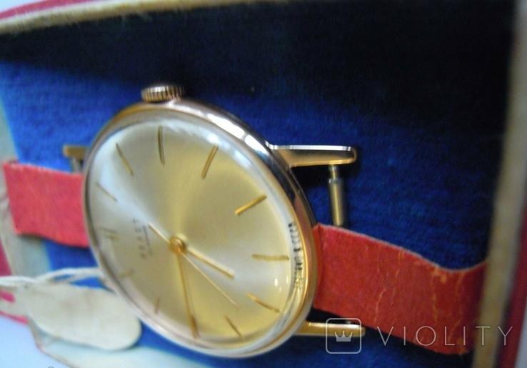 Золотые часы Полет 583, фото №4
