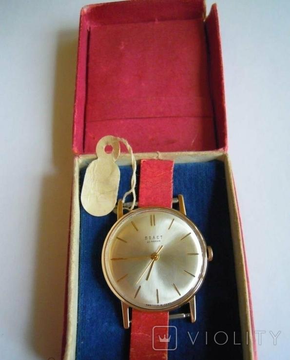 Золотые часы Полет 583, фото №5