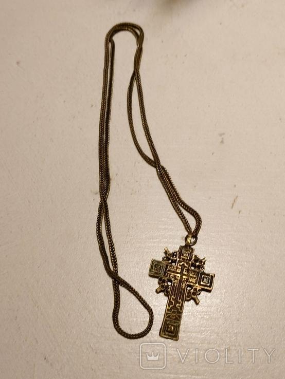 Крест на цепочке, фото №2