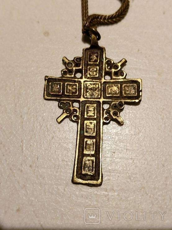 Крест на цепочке, фото №4