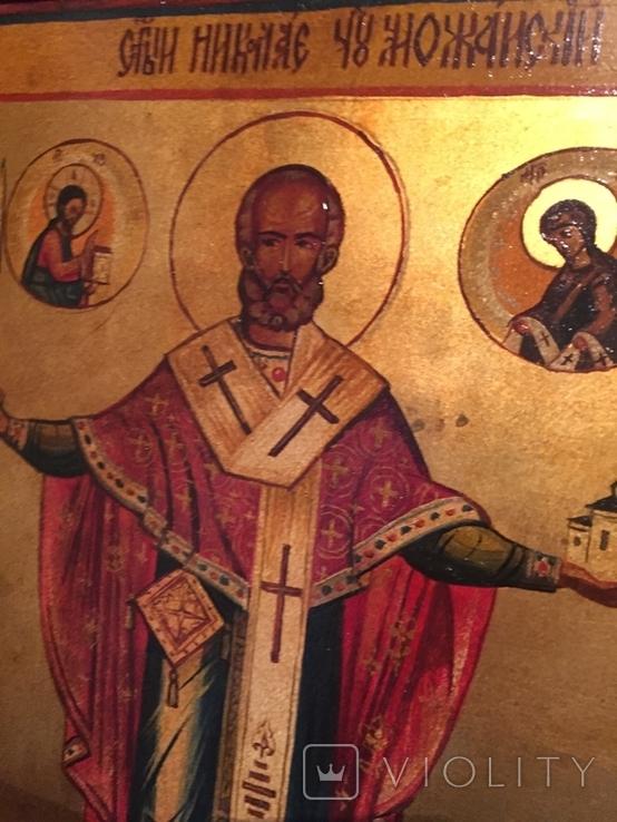 Икона Николай Можайский, фото №3