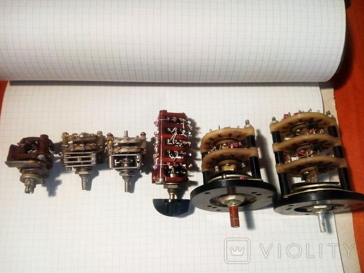 Переключатели галетные, фото №2