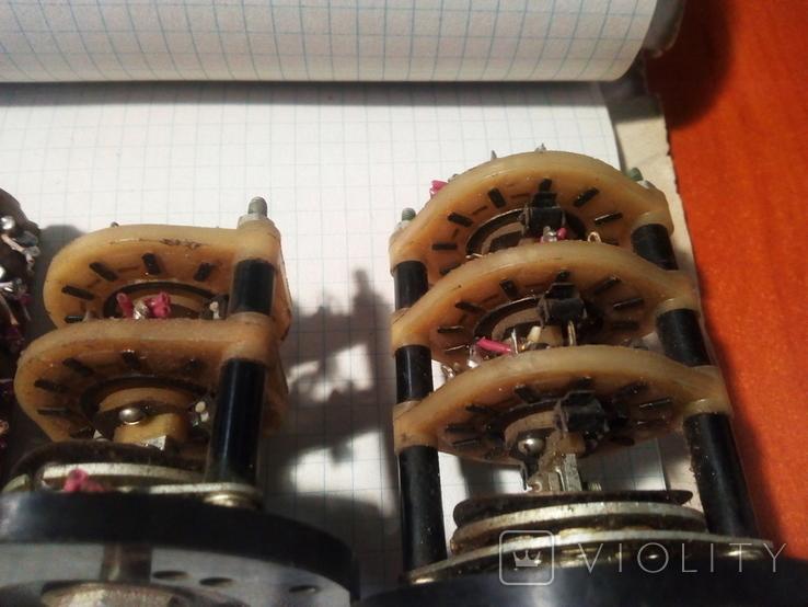 Переключатели галетные, фото №5