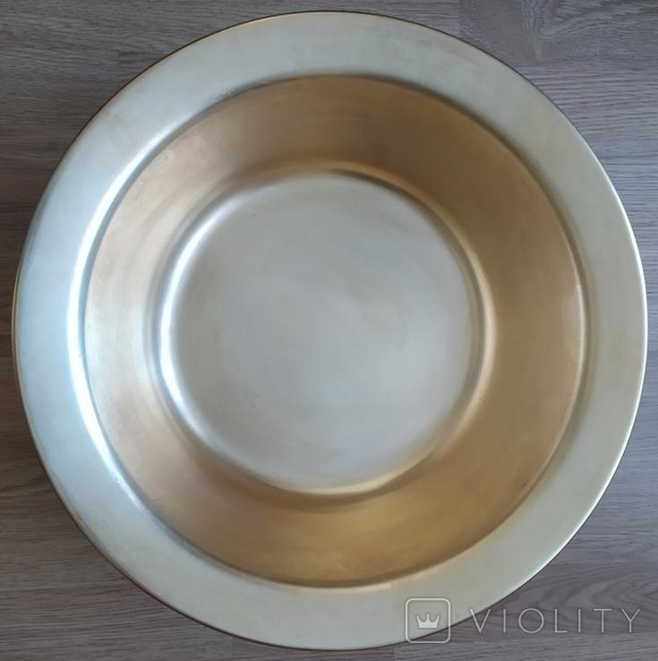 Миска латунная 2,2 кг, фото №6