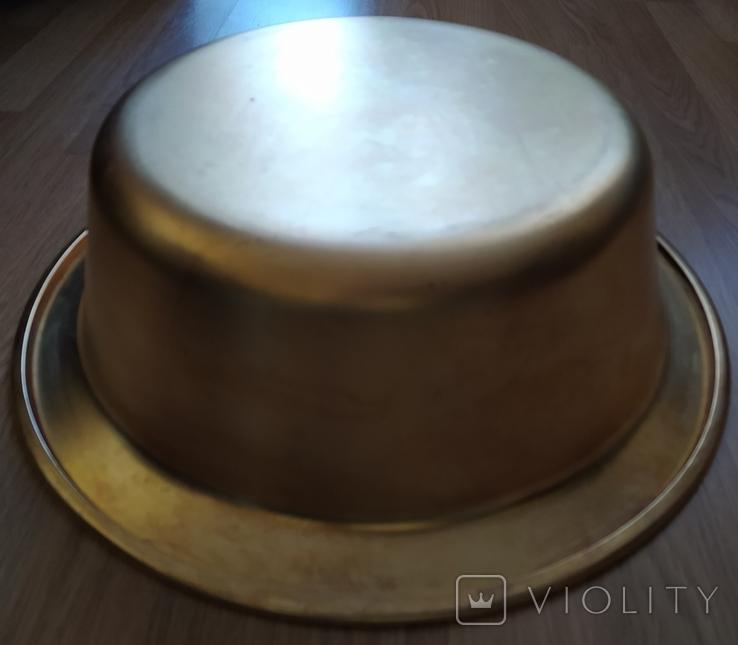Миска латунная 2,2 кг, фото №7
