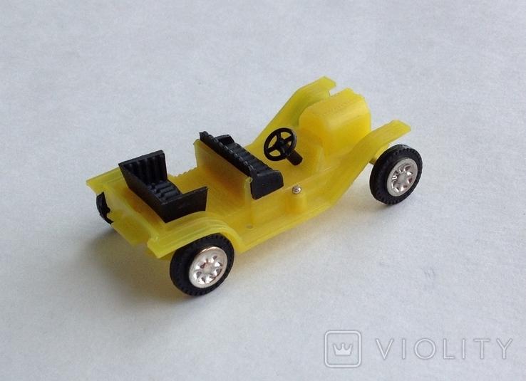 Машинка детская. Пластик. СССР, фото №2