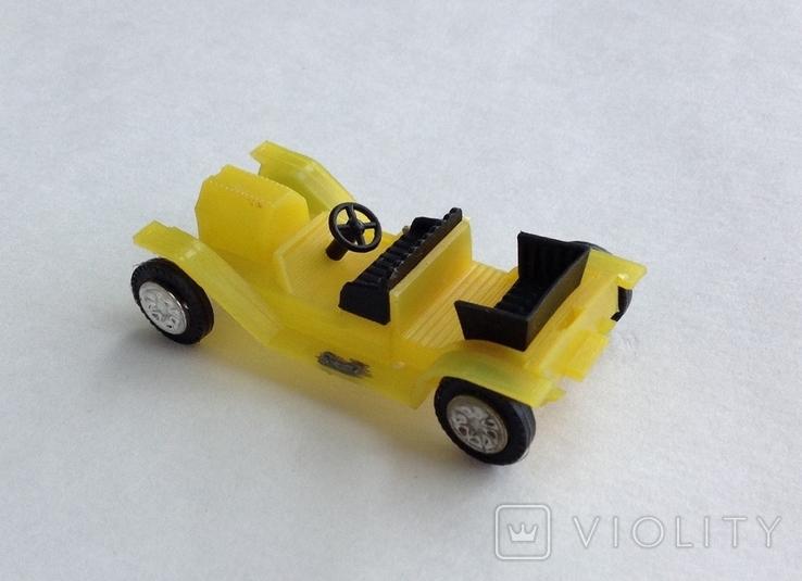 Машинка детская. Пластик. СССР, фото №3