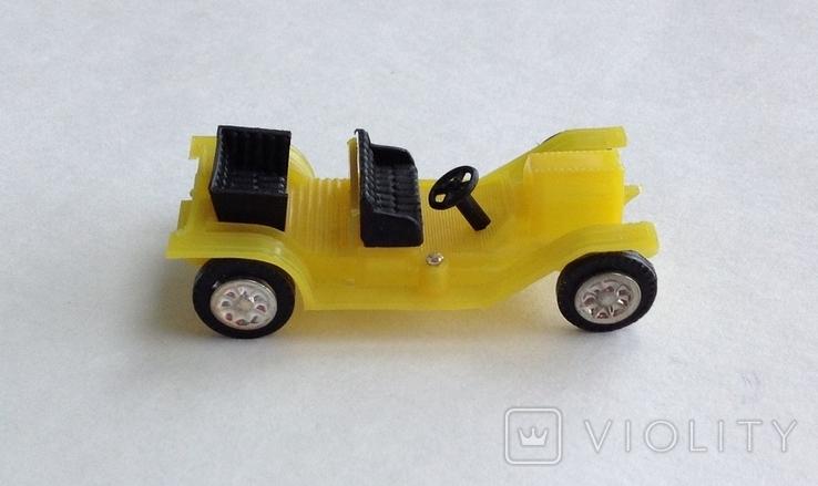 Машинка детская. Пластик. СССР, фото №6