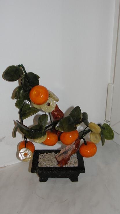 Дерево счастья Мандарин.Нефрит, фото №2