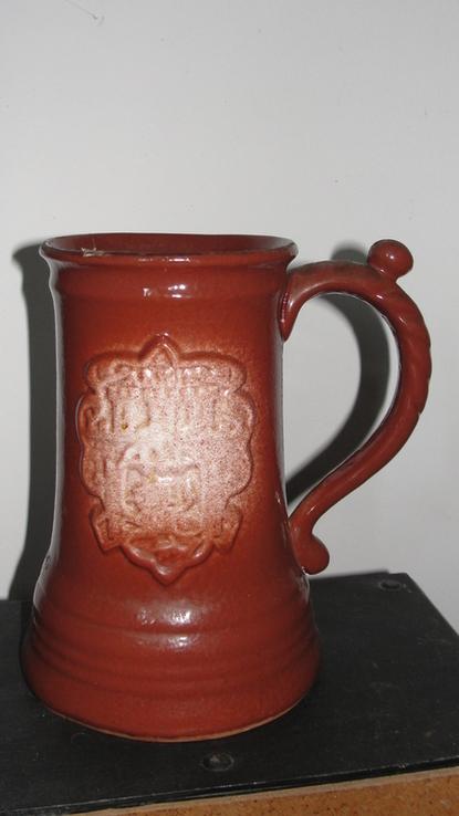 Пивная кружка с гербом города. Львов, фото №3