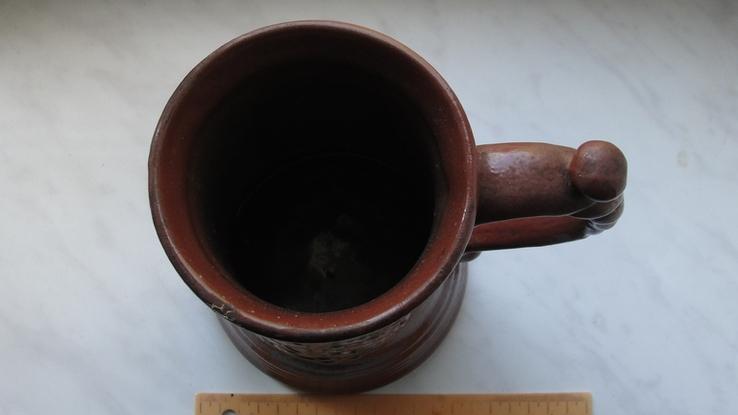 Пивная кружка с гербом города. Львов, фото №5