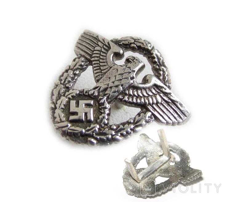 III REICH птица курица имперский орел рукоятки штык ножа полиции Polizei (херш). Копия., фото №3
