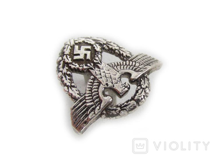 III REICH птица курица имперский орел рукоятки штык ножа полиции Polizei (херш). Копия., фото №6