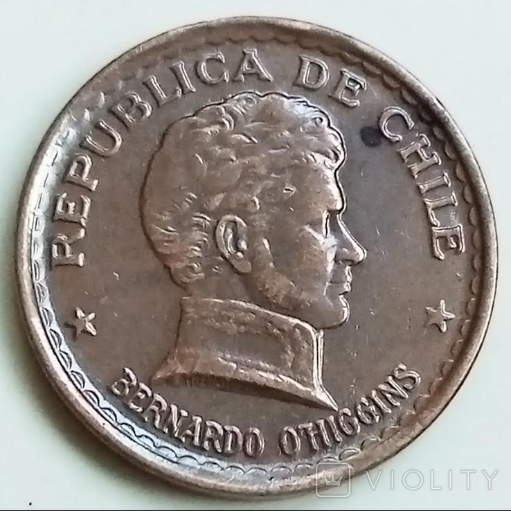 20 сентаво 1951 г. Чили, фото №2