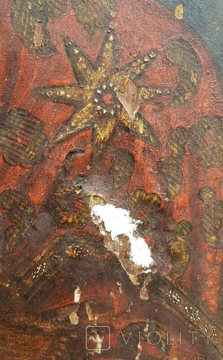 Ікона Божої матері Почаївська. Українське бароко. Підписна., фото №10