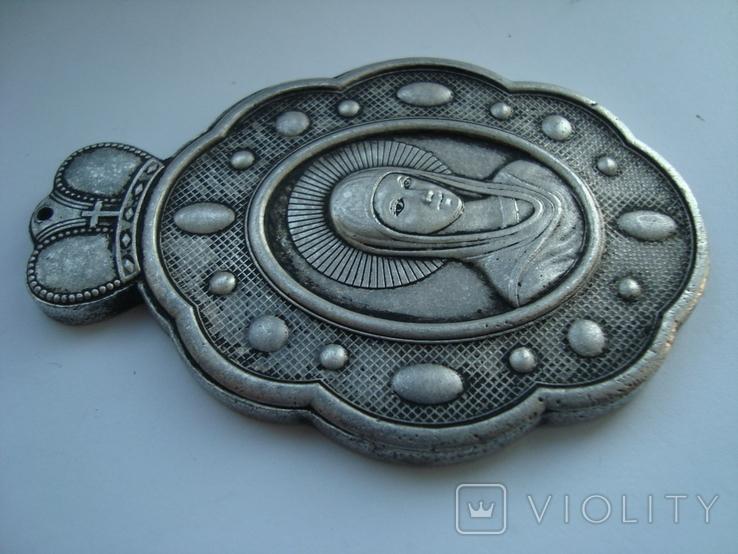 Иконка. Церковный медальйон. Копия, фото №6