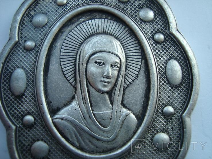 Иконка. Церковный медальйон. Копия, фото №7